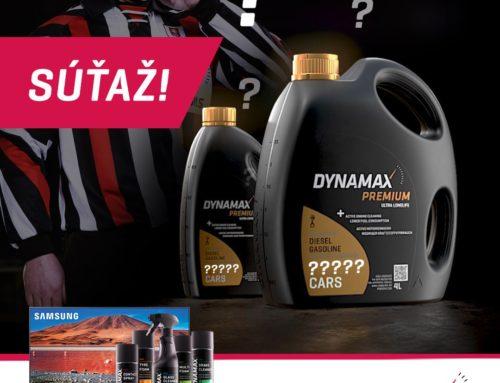 Pravidlá súťaže Vyhraj s DYNAMAX-om (Facebook)